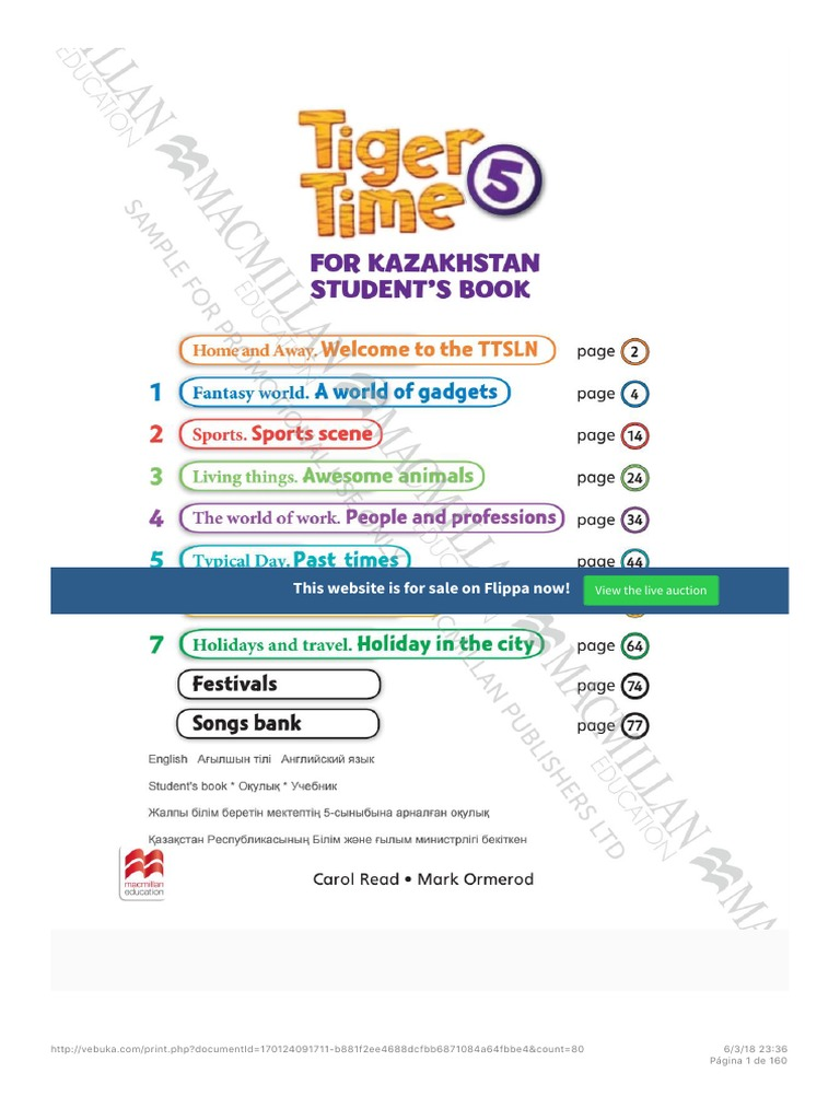 ISSUU PDF Tiger Time 5