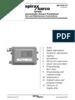 SP400 Electropneumatic Smart Positioner-Installation Maintenance Manual