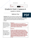 shira sobol - unit 1  lesson 4 - 8th grade - reflection  loyalists vs patriots