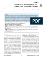 When Age Matters - Differences in Facial Mimicry and Autonomic Responses to Peers PLoSONE2014