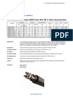 1XTech Shd-gc Power Cable 5000 Volts - Mining
