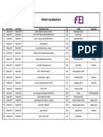 Calendar 2015 - 19 Mai 2015 Varianta II