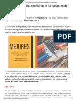 Artículos y Material Escolar Para Estudiantes de Arquitectura _ Arquinétpolis