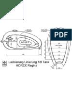 Horex Regina 18 litre tank paint plan