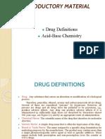 1.Drug Definition