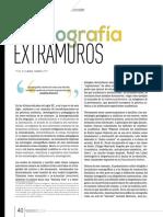 TAMBUTTI, S. 2018. Coreografía Extramuros