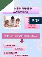 PRINSIP-PRINSIP KOMUNIKASI PADA ANAK