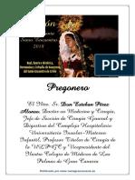 Pregón Santo Entierro 2018