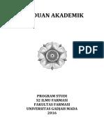 Buku Panduan Akademik s2 Ilmu Farmasi 2016
