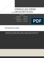 Kelompok 6 - Krim Hidrokortison