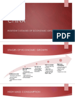 CHINA Stages of Growth