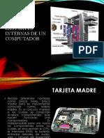 Las Partes Internas de Un Computador
