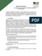 TÉRMINOS de REFERENCIA Popularización de Leyes y Reglamentos