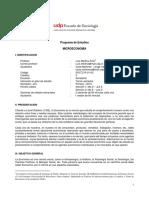 Programa Microeconomía (SOC) 2018 1