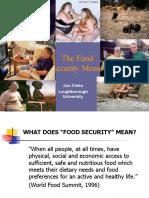 The Food Security Meme