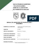 Manual de Fisiopatologia y Bioquimica II
