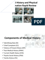 Medical History and Physical Examination Rapid Review