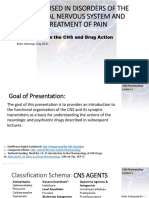 Lecture 1-Introduction to the CNS and Drug Action