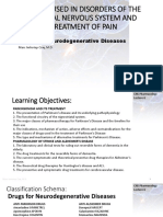 Lecture 6-Drugs for Neurodegenerative Diseases