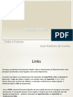 Curso HTML Links e Frames