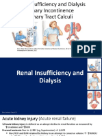 Renal Insufficiency _ Dialysis, Urinary Incontinence _ Calculi