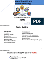 4-Pharmacokinetics I