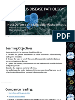 Host Defense and Microbial Pathogenesis