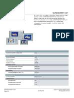 6AV66430CD011AX1 Datasheet En
