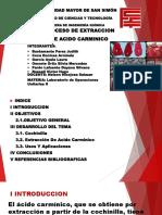 Extraccion Acido Carminico Laura Garcia Ayala
