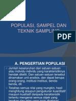 Populasi Sampel Dan Sampling