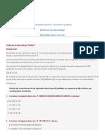 Evidencia de Aprendizaje Unidad 1 Matematicas Discretas
