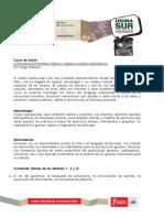 Programa. La Estructura Dramática Clásica