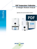SOP HR HG HB MJ TempCal Moisture Analyzer En