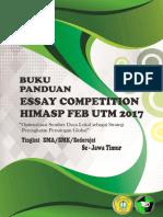 Buku Panduan Essay Himasp 20171-1