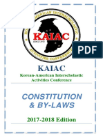 FINAL KAIAC Constitution 2017
