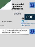 Manejo Del Paciente Intoxicado Enfermeria Universidad de Chile