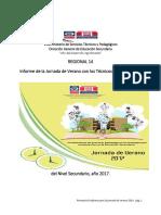 Informe Jornada Tecnicos 2017