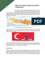 Sejarah Lengkap Kerajaan Mataram Islam