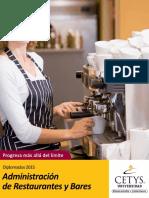 D_administracion de Restaurantes y Bares
