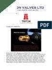 Triton Valves Ltd