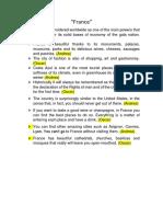 Documento de Francia