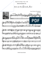 Clerambault Louis Nicolas organ