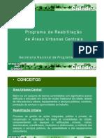 PRograma de reabilitação de áreas urbanas centrais