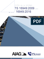 TRANSICION DE LA NORMA ISO TS a IATF 16949