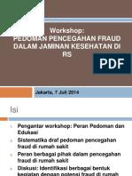 Workshop Fraud