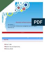 9234220 Remote Infrastructure Management
