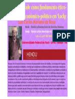 Da propriedade como fundamento ético-jurídico e econômico-político em Locke / Hendu