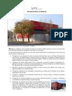 Presentación de VPS S.A. 2016-08-01