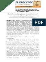 Implantação Da Usina Hidrelétrica de Santo Antônio Do Jari