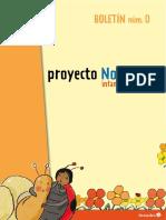 Proyecto Noria. Boletin 0